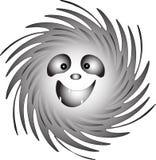 Smiley/spook-Vreugde/Vector Royalty-vrije Stock Foto's