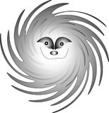 Smiley/Spookglimlach/vector Stock Foto