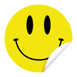 Smiley Sticker Royalty Free Stock Photo