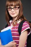 Smiley teenager Stock Photo