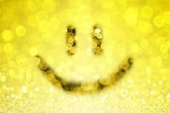 Smiley twarzy tło Obrazy Royalty Free