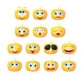 Smiley van de pompoen Royalty-vrije Stock Afbeeldingen