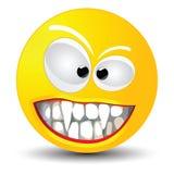 Smiley van de vampier Stock Foto