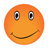 Smiley Vector happy face. Emoticon luck icon Stock Image