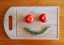 Smiley Veggie Fotografia Stock