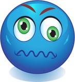 Smiley wütend, verrückt Lizenzfreies Stockbild