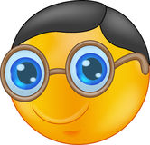 Smiley Wearing Glasses Royalty Free Stock Photos