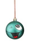 Smiley-Weihnachtsspielwaren Lizenzfreie Stockfotos