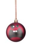 Smiley-Weihnachtsspielwaren Lizenzfreie Stockbilder