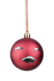 Smiley-Weihnachtsspielwaren Lizenzfreie Stockfotografie