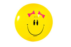 Smiley on white. Royalty Free Stock Photo