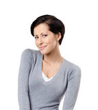 Smiley woman Royalty Free Stock Photography