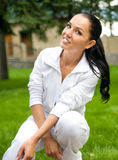 Smiley women Stock Images