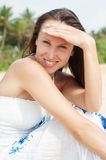 Smiley young woman Royalty Free Stock Images