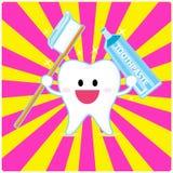 smiley ząb Zdjęcie Royalty Free