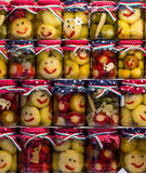 Smiley zalewy w słoju Zdjęcia Stock