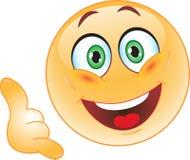 Smileybesprekingen. Stock Foto's