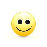Smileyen vänder mot Stock Illustrationer