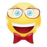 Gladlynt smiley Arkivfoto