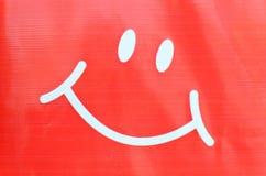 Smileyframsidasymbol Royaltyfri Bild