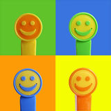 Smileygesicht Lizenzfreies Stockfoto