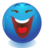 Smileygezicht emoticon Stock Foto's