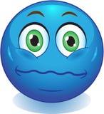 Smileyneutrale person Stockbild