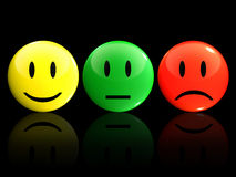 Smileys royalty free stock photography
