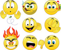 smileys Obraz Royalty Free