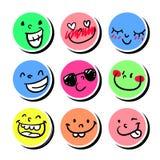 smileys Стоковые Фото
