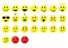 smileys Стоковые Изображения