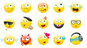 smileys Obraz Stock