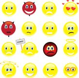 Smileys, Icons Stock Photos