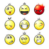 Smileys | Set 1 Royalty Free Stock Image