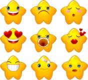 Smileys stars stock image