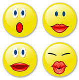 smileys1 Obraz Stock