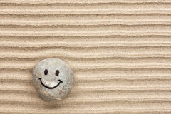 Smileystein Lizenzfreies Stockfoto