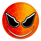 Smileysuperheld Spiderman Lizenzfreies Stockfoto