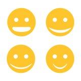 smileyvektor Royaltyfri Fotografi