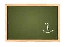 smilie мелка доски Стоковое фото RF