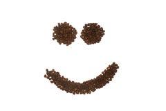 smilie стороны кофе Стоковые Фото