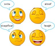 Smilies �B� Royalty Free Stock Image