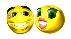 Smilies Stock Photo