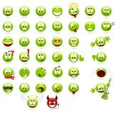 Smilies Foto de Stock Royalty Free