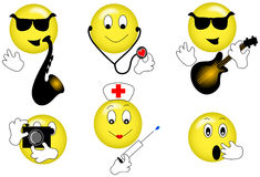 Smilies Images stock
