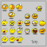 Smilies Stock Photography
