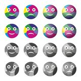 Smilies Stock Image