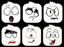 Smilies-Emoji Royalty Free Stock Image