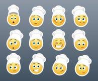 Smilies en la cocina Imagenes de archivo