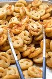 Smilies frits par pomme de terre Image libre de droits